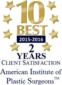 Client Satisfaction by American Institute of Plastic Surgeons