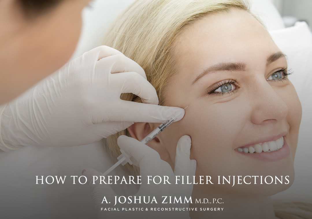 Preparing for filler injections NYC